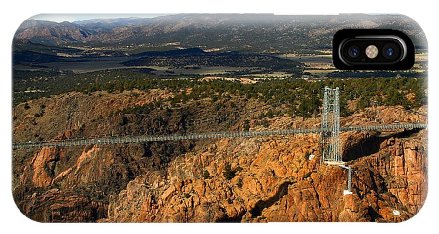 Royal Gorge IPhone X Case featuring the photograph Royal Gorge by Anthony Jones