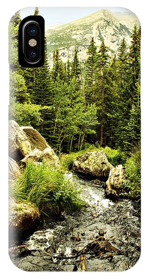 Colorado IPhone X Case featuring the photograph Running River by Marilyn Hunt