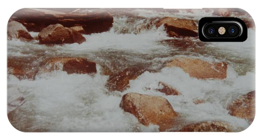 Water IPhone Case featuring the photograph Rushing Water by Rob Hans