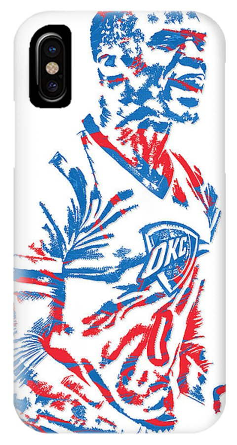 pretty nice 9cd4f f0326 Russell Westbrook Oklahoma City Thunder Pixel Art 5 IPhone X Case