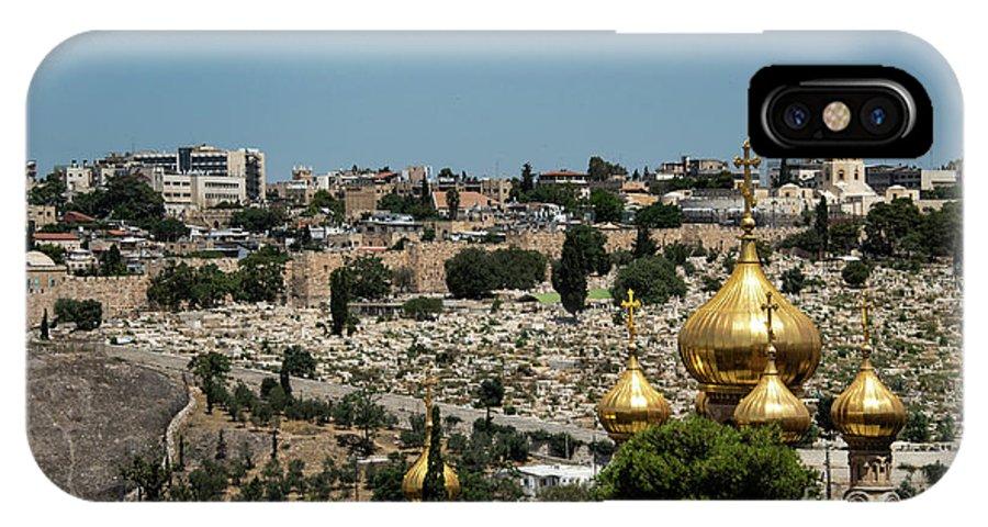 Russian Orthodox Church IPhone X Case featuring the photograph Russian Orthodox Church by Mae Wertz