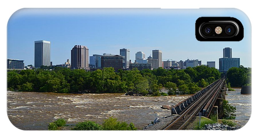 Richmond IPhone X Case featuring the photograph RVA by Aaron Dishner