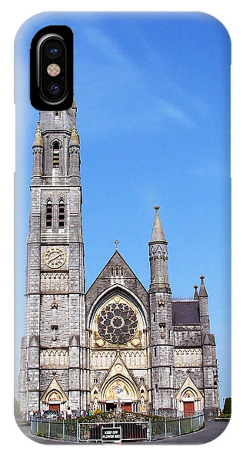 Ireland IPhone X Case featuring the photograph Sacred Heart Church Roscommon Ireland by Teresa Mucha