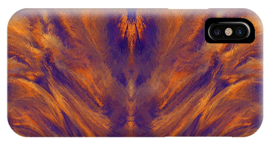 Sacred Light IPhone X Case featuring the digital art Sacred Light - 400 by Artistic Mystic