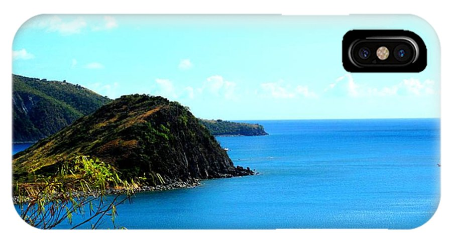 St Kitts IPhone X Case featuring the photograph Safe Harbor by Ian MacDonald