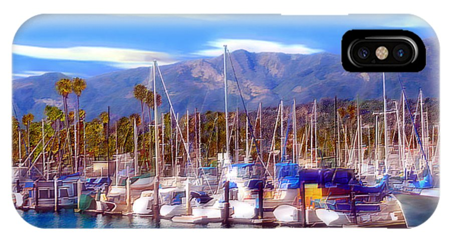 Charbor IPhone X Case featuring the photograph Safe Haven by Kurt Van Wagner