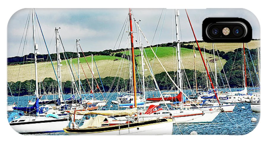 Boat Pics IPhone X Case featuring the photograph Sailing Boats by Ed James