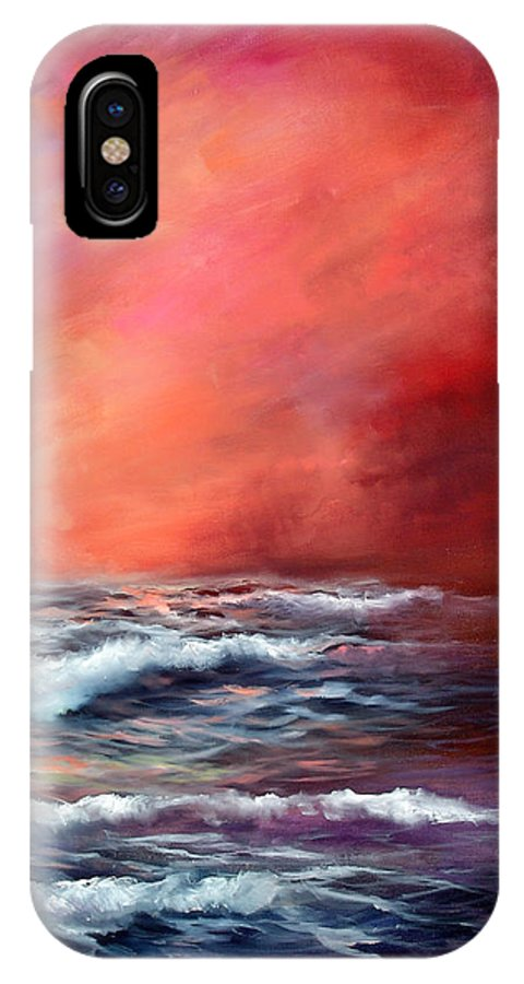 Ocean IPhone Case featuring the painting Sailors Delight by Sally Seago