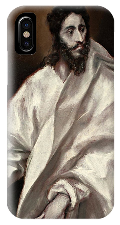 Apostle IPhone X Case featuring the painting Saint Bartholomew by El Greco