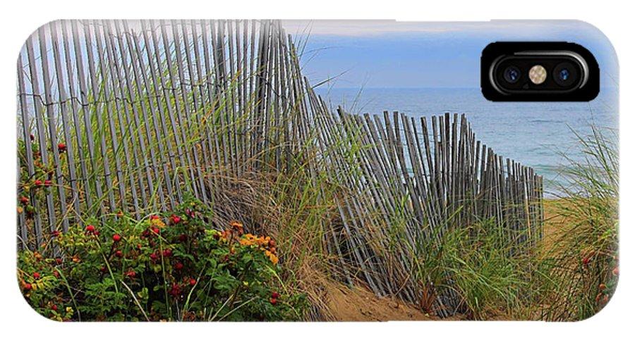 Salisbury Beach IPhone X Case featuring the photograph Salisbury Beach by Jeff Heimlich