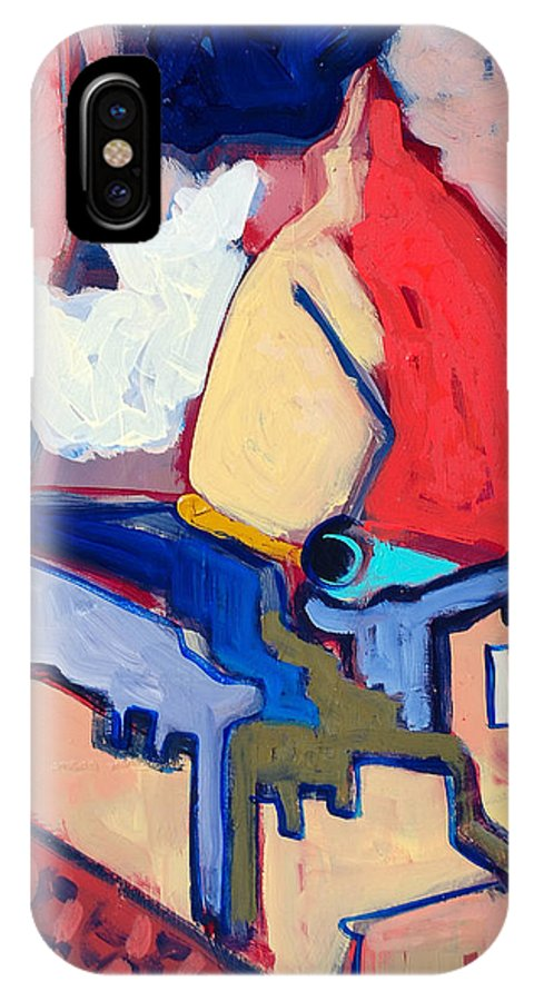 Florence IPhone Case featuring the painting Salutare by Kurt Hausmann