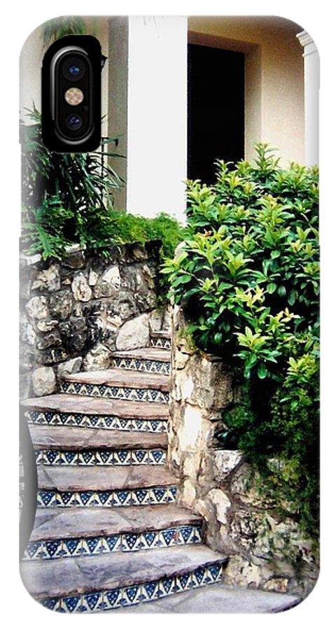 San Antonio Stairway IPhone X Case featuring the photograph San Antonio Stairway by Will Borden