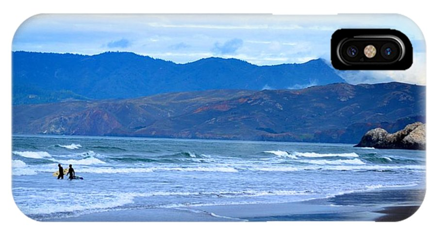 Bay IPhone X Case featuring the photograph San Francisco Bay by Sharon Wunder Photography