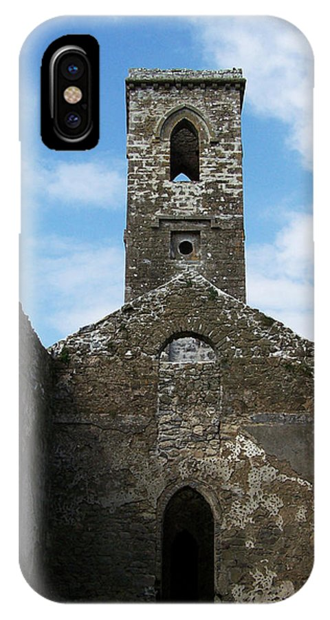 Ireland IPhone X Case featuring the photograph Sanctuary Fuerty Church Roscommon Ireland by Teresa Mucha