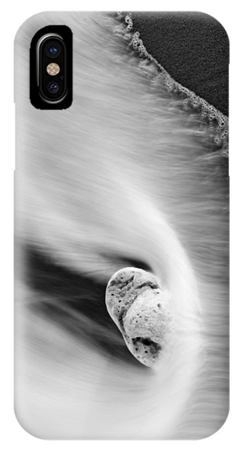 Rock IPhone Case featuring the photograph Sand And Sea by Mike Dawson