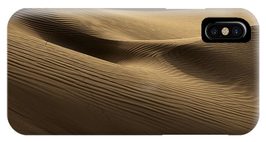 Dunes IPhone X Case featuring the photograph Sand Dune by Phil Crean