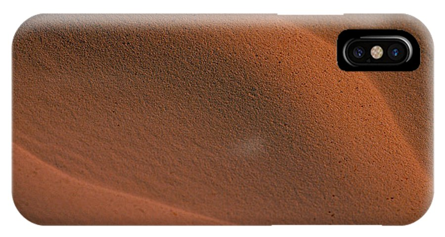 Sahara IPhone Case featuring the photograph Sand In Sahara by Michael Mogensen