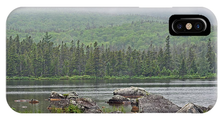 Sandy Stream Pond IPhone X Case featuring the photograph Sandy Stream Pond by Glenn Gordon