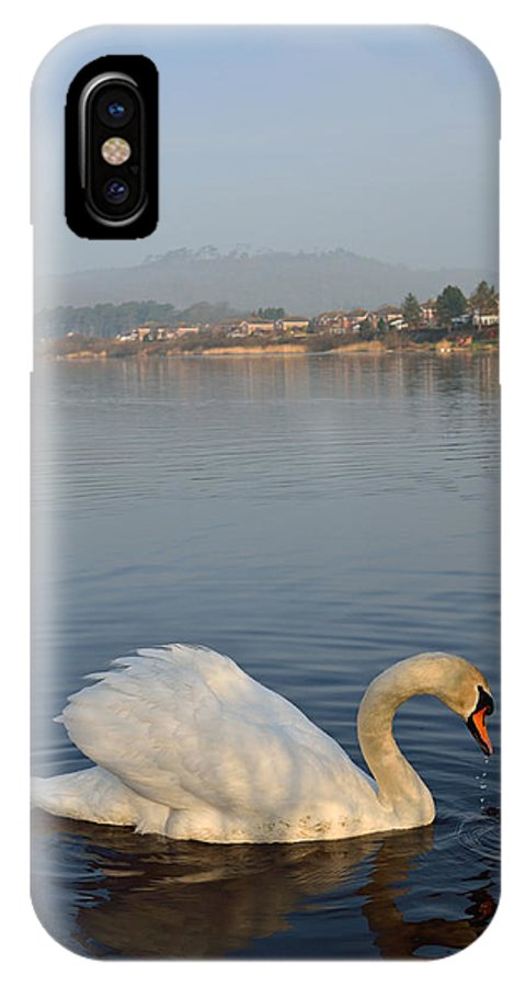 Llanelli IPhone X Case featuring the photograph Sandy Water Park 4 by Phil Fitzsimmons