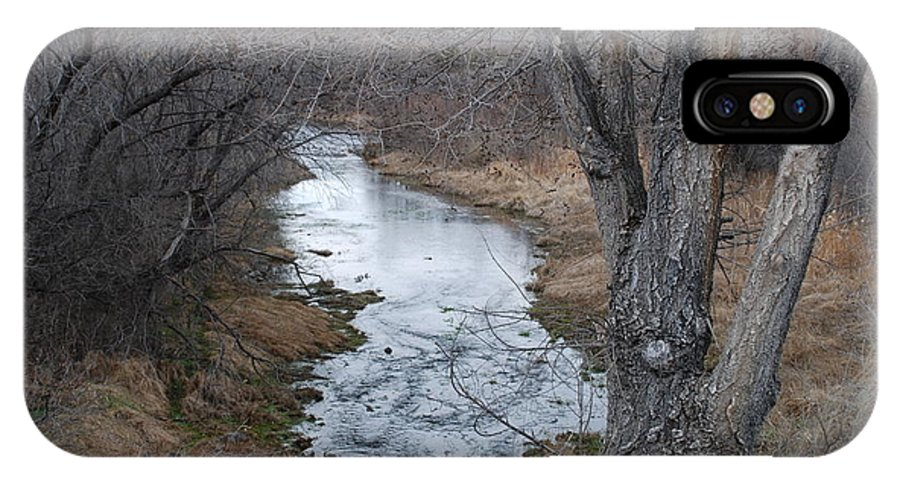 Santa Fe IPhone X Case featuring the photograph Santa Fe River by Rob Hans