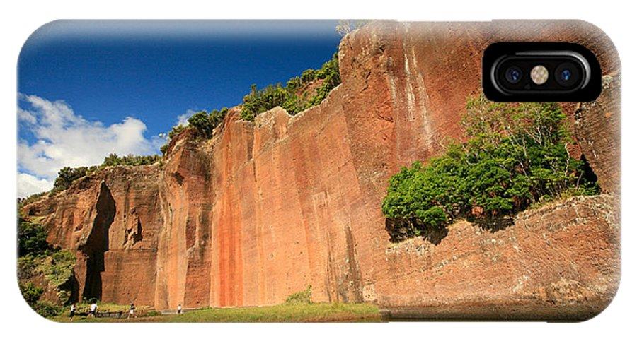 Walls IPhone X Case featuring the photograph Santa Maria Azores by Gaspar Avila