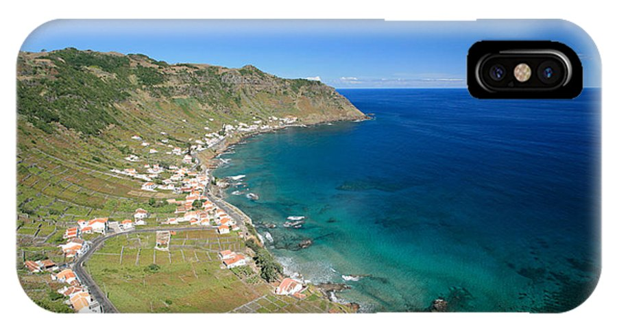 Azores IPhone X Case featuring the photograph Santa Maria Azores II by Gaspar Avila