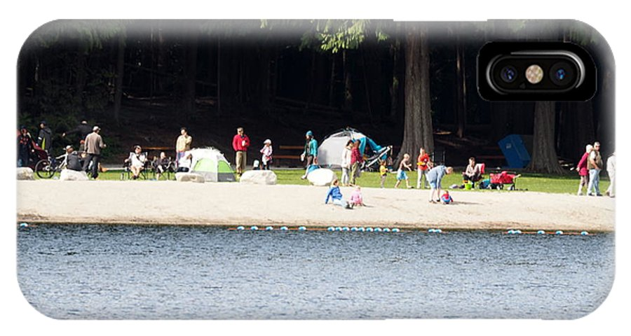 Alice Lake Provincial Park IPhone X Case featuring the photograph Sunday September 5 2015 by Darrell MacIver