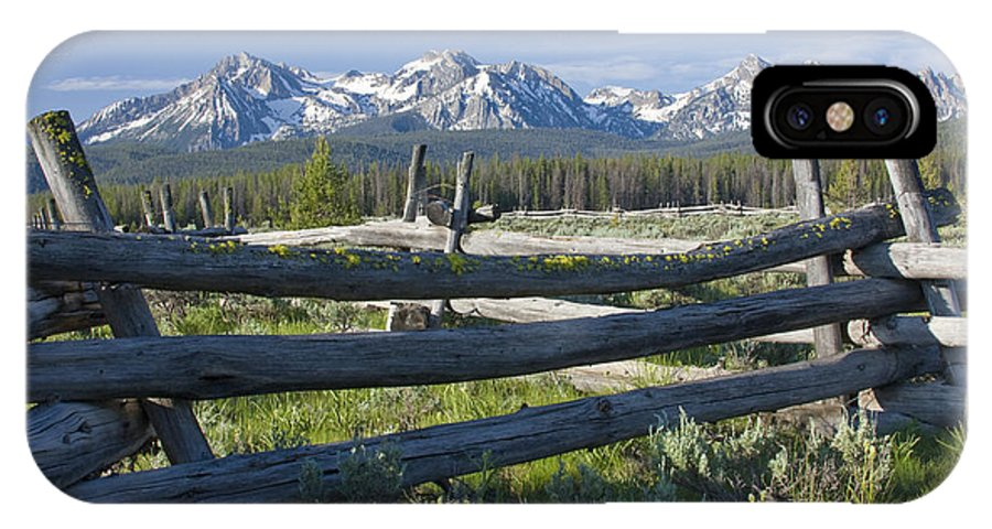 Sawtooth IPhone X Case featuring the photograph Sawtooth Range by Idaho Scenic Images Linda Lantzy