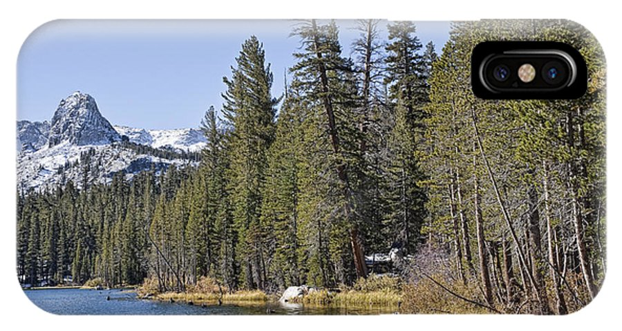 Water IPhone X Case featuring the photograph Scenic Beauty by Kelley King