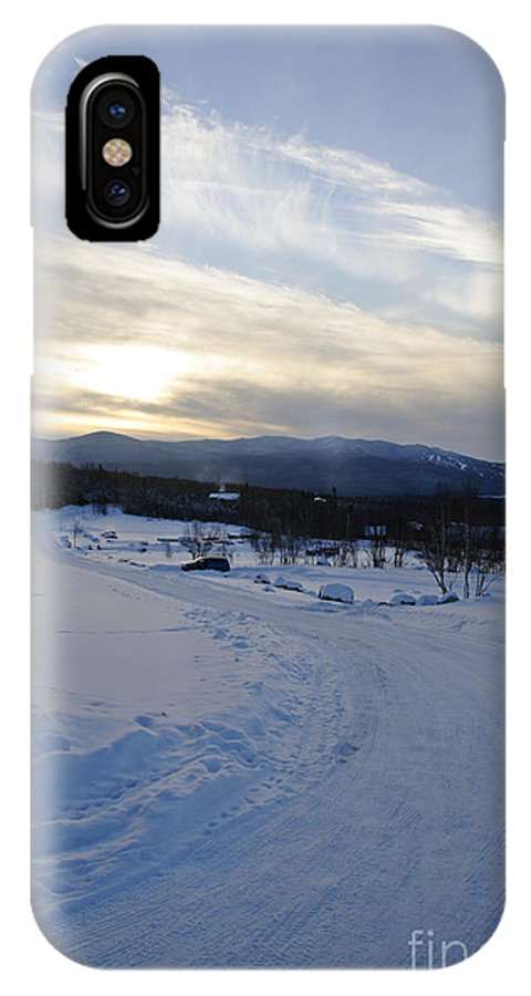 Winter IPhone Case featuring the photograph Scenic Vista From Marshfield Station In The White Mountains New Hampshire Usa by Erin Paul Donovan