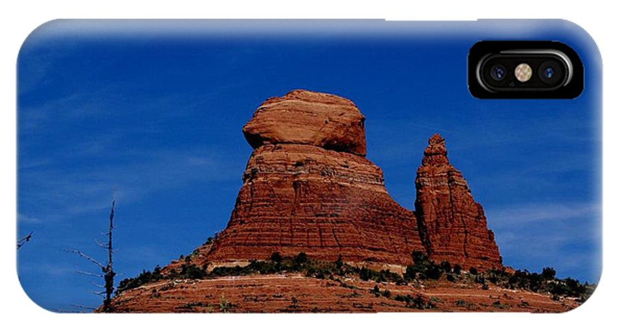 Schnebly Hill IPhone X Case featuring the photograph Schnebly Hill Vortex by The Art With A Heart By Charlotte Phillips
