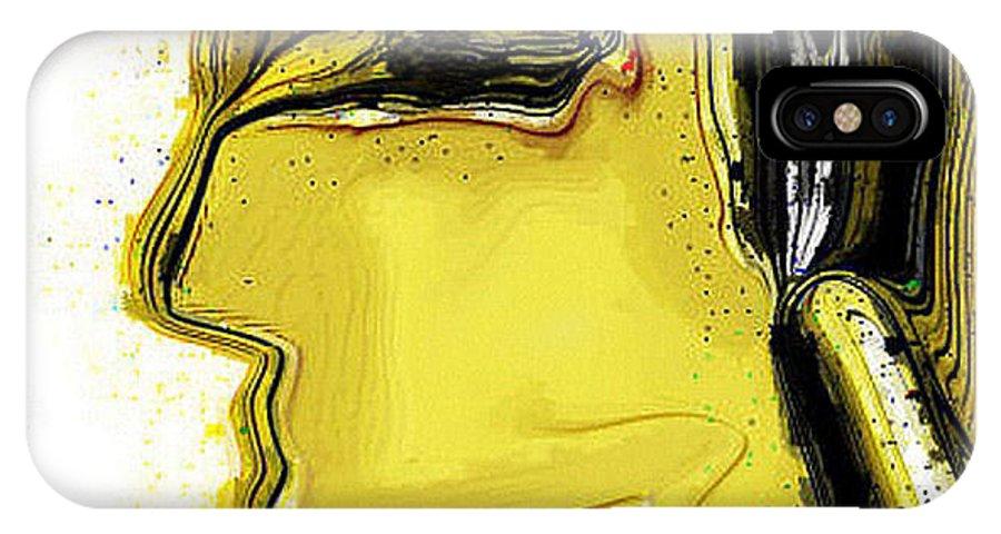Digital IPhone Case featuring the digital art Schoene Griechin by Ilona Burchard
