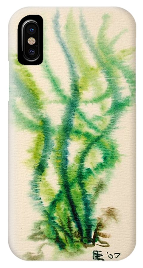 Sea IPhone Case featuring the painting Sea Bed One by Dave Martsolf