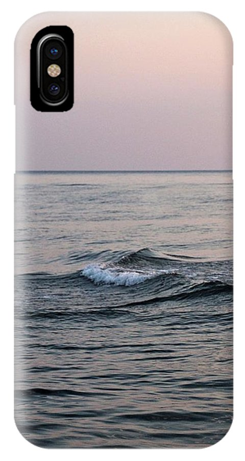 Sea IPhone X / XS Case featuring the photograph Sea by Nikola Ralevic