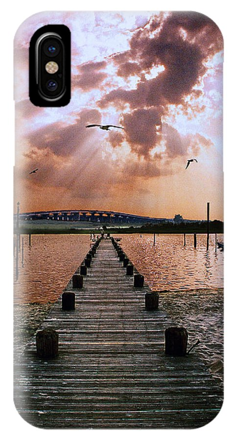 Seascape IPhone Case featuring the photograph Seaside by Steve Karol