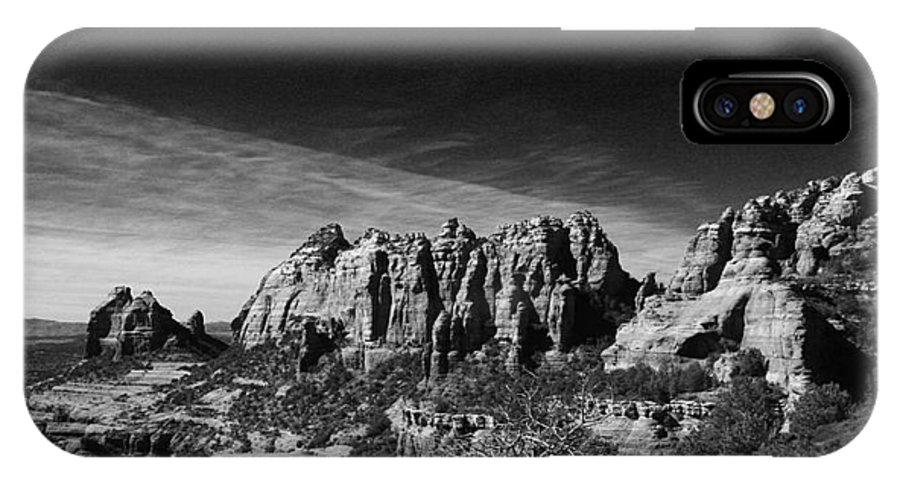 Sedona IPhone X Case featuring the photograph Sedona Reversed by Randy Oberg