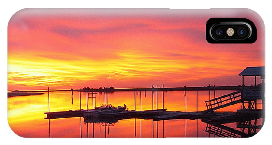Sunsets IPhone X Case featuring the photograph Seeing Is Believing by Debbie May