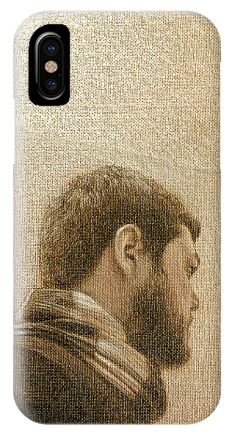 IPhone Case featuring the painting Self by Joe Velez