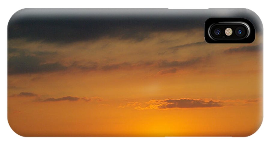 IPhone X Case featuring the photograph Serengeti Sunset by Jenny Gandert