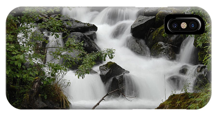 Stream IPhone X Case featuring the photograph Serenity by Keith Lovejoy