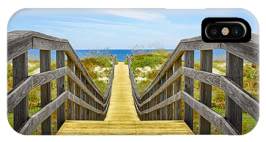 St Augustine Florida IPhone X Case featuring the photograph Serenity by Steven Michael