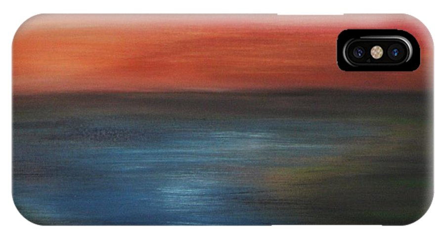 Scenic IPhone Case featuring the painting Serenity by Todd Hoover