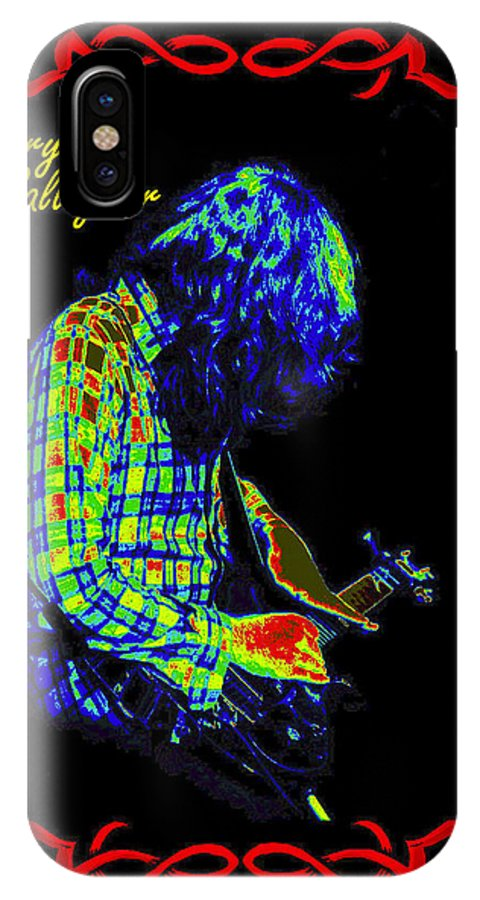 Rory Gallagher IPhone X Case featuring the photograph Seventh Son Of A Seventh Son by Ben Upham