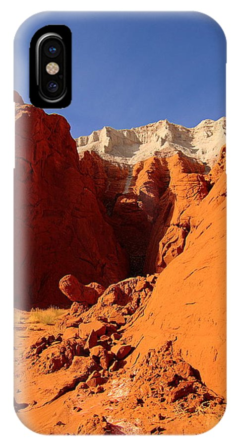 Utah IPhone X Case featuring the photograph Sexy Landscape by Viktor Savchenko