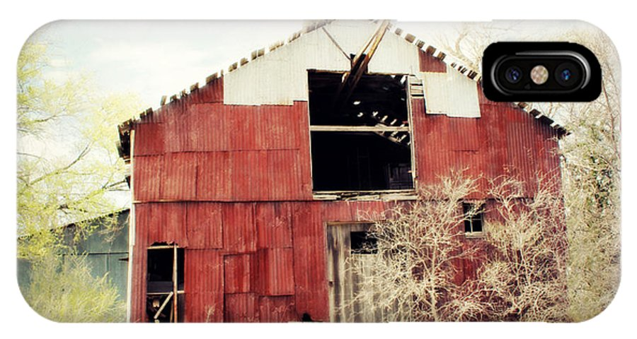 Barn IPhone X Case featuring the photograph Shabby by Julie Hamilton