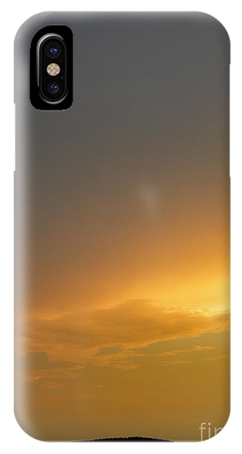 Scenic Tours IPhone X Case featuring the photograph Shades Of Anxiety by Skip Willits