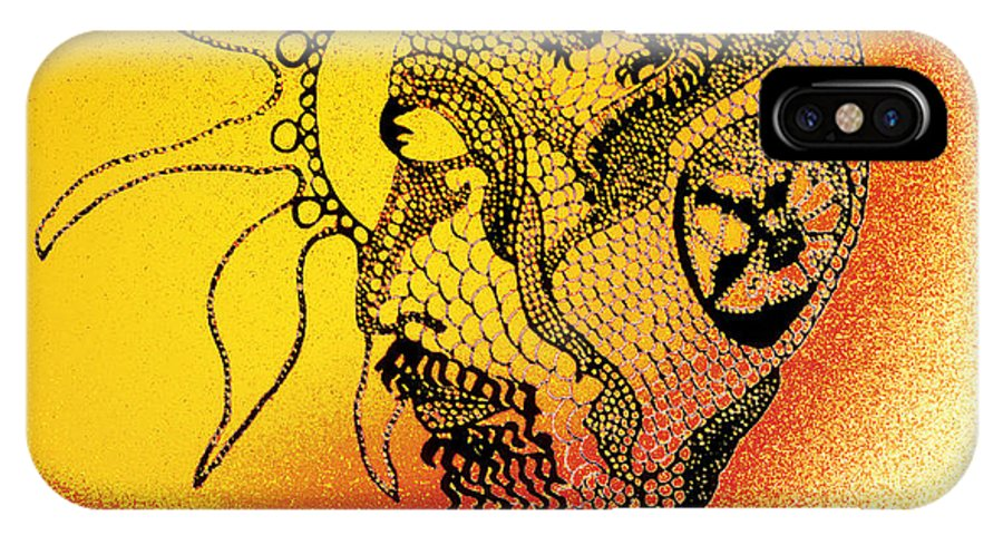 Surrealism IPhone X Case featuring the photograph Shades Of The Seventies by Susan Capuano