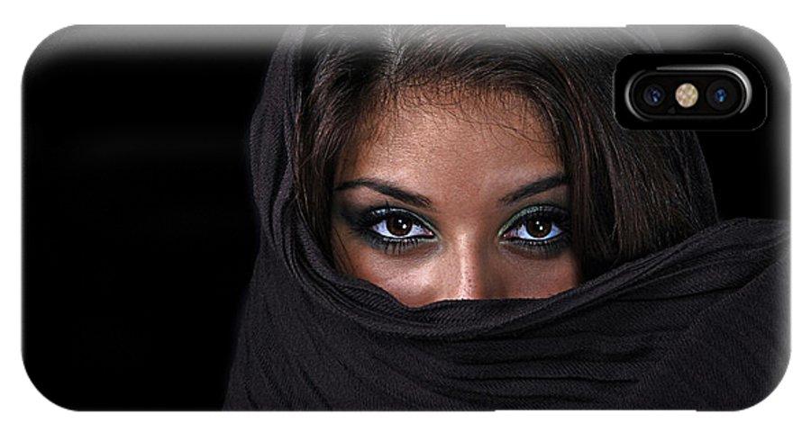 Woman IPhone X Case featuring the photograph Sheherazade by Joachim G Pinkawa