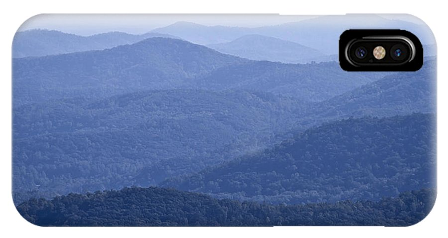 Shenandoah IPhone X Case featuring the photograph Shenandoah Mountains by Pierre Leclerc Photography