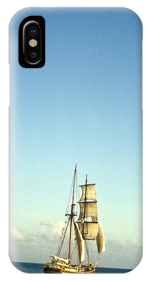 Ship IPhone Case featuring the photograph Ship Off The Bow by Douglas Barnett